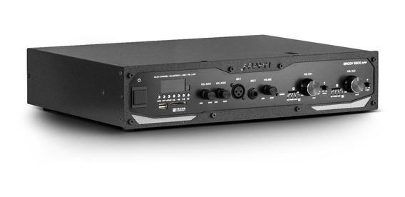 Amplificador Profissional Frahm Gr 5500 App 600w Blu Usb,sd