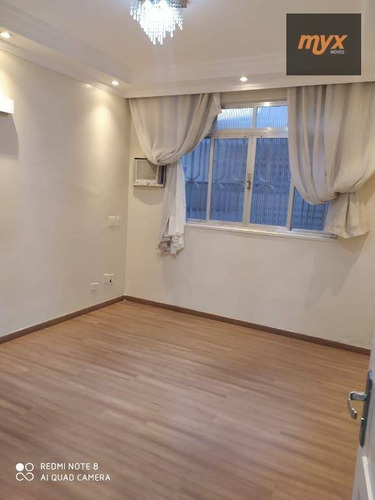 Apartamento Com 2 Dormitórios À Venda, 70 M² Por R$ 350.000,00 - Ponta Da Praia - Santos/sp - Ap5811