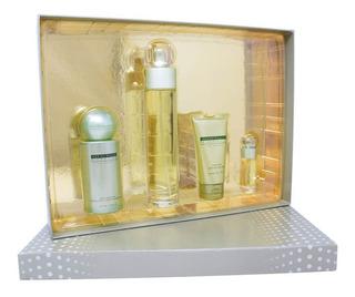 Set Reserve Women 4pzs 100 Ml Edp Spray + Hand Cream 57g + B