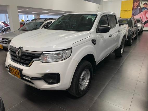 Renault Alaskan Cargo Mt 2.5cc 4x4 Diesel Blanco 2020 Gey274