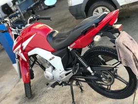 Honda Titan 150 Ex Vermelha