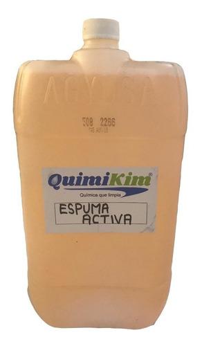 Espuma Activa Con Cera Y Teflon Shampoo Para Autos 20 Litros Para Todo Tipo De Espumadores Genera Espuma Tipo Nieve