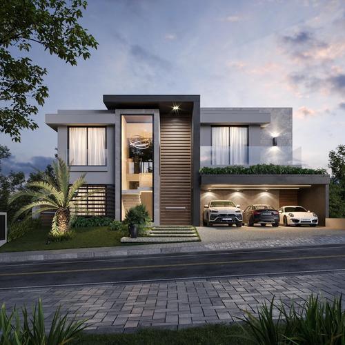 Residencial 10 Casa Duplex 458m2 4 Suítes,sala,cozinha,banheiros,6 Vagas,piscina,terraço - Ca00224 - 69288970