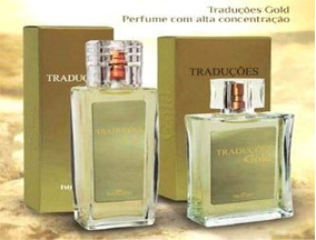 Kit 2 Perfumes Tradutraduções Gold Hinode