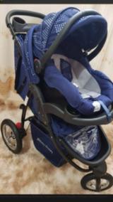 Carrinho Bebê 3 Rodas + Bebe Conforto