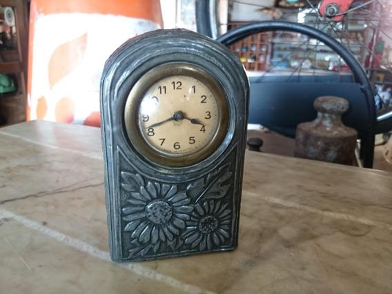 Relógio Antigo Frances A Corda De Mesa Alemão Ñ Silco 997