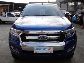 Ford Ranger Xlt 3.2 Cd Aut. 2017 Azul 8.258km - Semi Nova