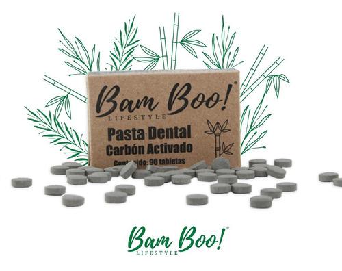 Imagen 1 de 1 de Pasta Dental Solida Bam Boo! Lifestyle® Carbon Activado
