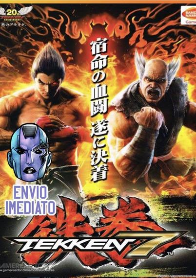 Tekken 7 Pc Steam Key Envio Imediato