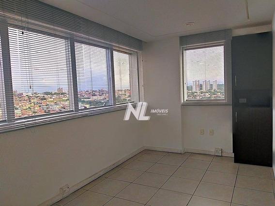 Sala Comercial Para Alugar, 45 M² Por R$ 1.600/mês - Lagoa Nova - Natal/rn - Sa0043