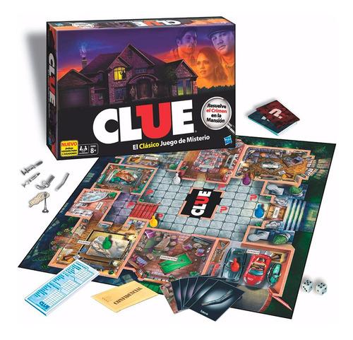 Juego De Mesa Clue ¿quien Es El Culpable?