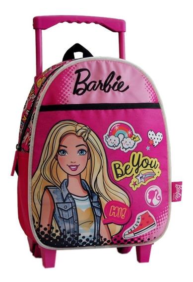Mochila Con Carro Jardin Barbie Original Mattel Mundo Team