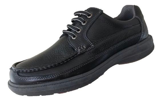 Zapato Casual Verde Tabaco Hombre Piel 3281 Himalaya Negro O