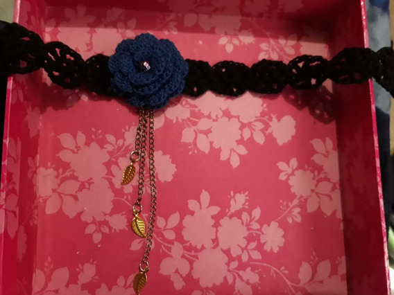 Chokers Tejidos A Mano Crochet