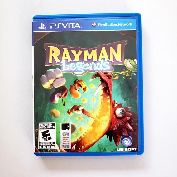 Rayman Legends Original Psvita Midia Física
