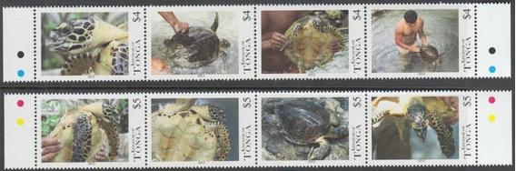 Fauna - Tortugas - Tonga - Serie Mint