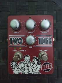 Bbe Two Timer Delay Reverb Analógico Boss Dm2