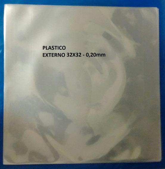 50 Plásticos - Externo. Proteção Para Lp Disco Vinil