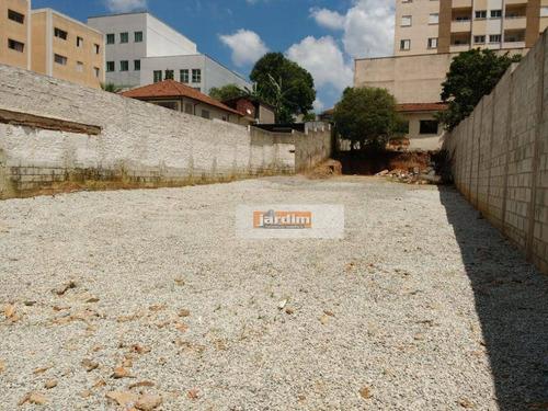 Terreno Para Alugar, 500 M² Por R$ 4.500,00/mês - Centro - São Bernardo Do Campo/sp - Te0904