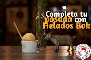 Helado Gourmet Saludable Con Leche De Cabra Libre De Gluten