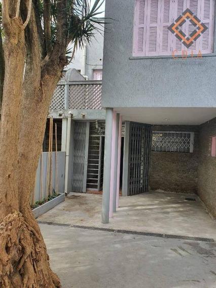 Sobrado Com 3 Dormitórios Para Alugar, 200 M² - Perdizes - São Paulo/sp - So7852
