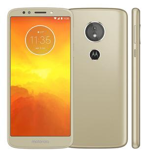 Motorola Moto E5 Xt1944-4 16gb Ouro Dual Tela5.7 Vitrine