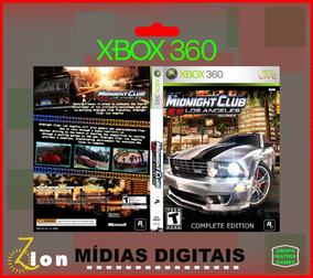 Midnight Club Original Xbox 360 - Mídia Digital