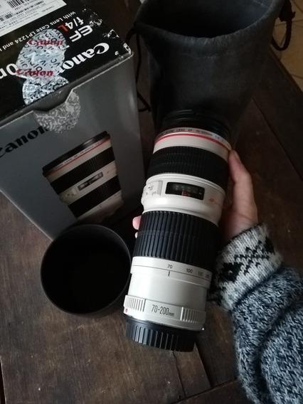 Lente Canon 70-200 F/4l Usm