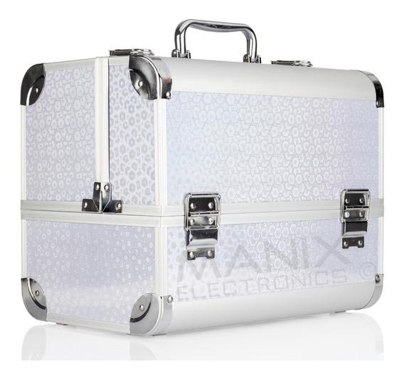 Neceser Profesional Cosmetiquera Belleza Aluminio Resistente Envio Gratis