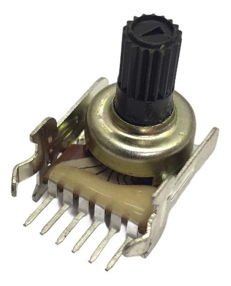 5 Unidades Potenciometro Lineal 50k 12mm 6 Pin Vertical