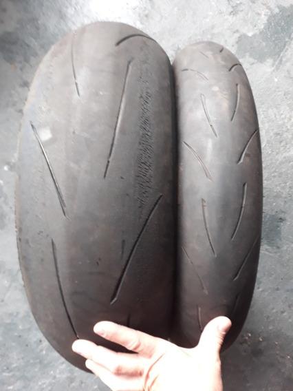 Par Pneus Chicletinho Racetech 200/55-17 120/70-17
