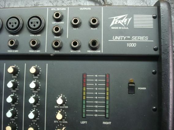 Raridade : Mixer Peavey Unit Series 1000