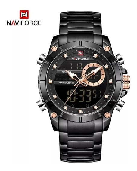 Relógio Masculino Naviforce 9163 Promoção Pronta Entrega