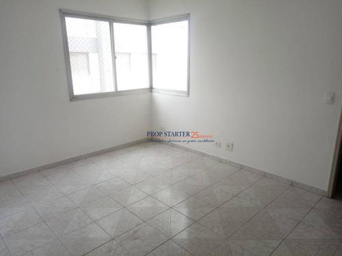 Imagem 1 de 18 de Apartamento Com 2 Dormitórios Para Alugar, 58 M² Por R$ 1.700/mês - Jardim Marajoara - Propstarter Adm.imoveis - Ap0360