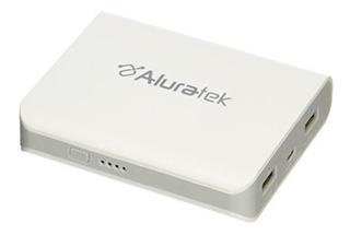 Aluratek Apb02f Dual Usb 8000 Mah Paquete De Bateria Externo