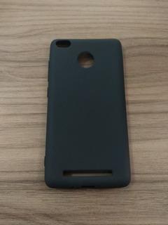 Capa Celular Xiaomi Redmi 3 - 3s - 3pro + Película De Vidro