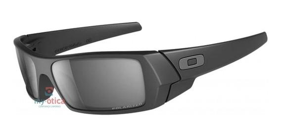 Óculos De Sol Oakley Gascan Preto Fosco Polarizado Original