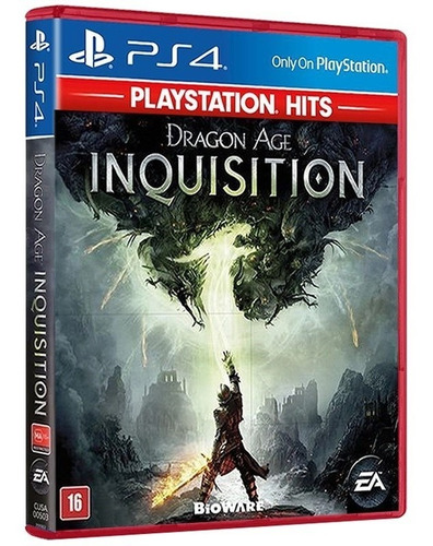 Imagem 1 de 7 de Dragon Age Inquisition Playstat. Hits Ps4 [ Mídia Lacrada ]