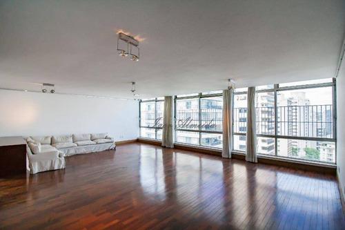 Imagem 1 de 30 de Maravilhosa Cobertura Com 4 Dormitórios, 358 M² - Venda Por R$ 5.340.000 Ou Aluguel Por R$ 20.000 - Higienópolis - São Paulo/sp - Co1297
