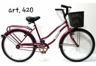 Bicicleta Bassano Paseo Full Rodado 26