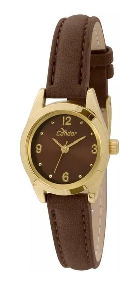 Relógio Condor Feminino Co2035kkz/2m Lindo , Novo De Vitrine