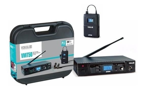 Sistema Monitor Retorno S/fio Vmt50 Vokal 16canais Uhf