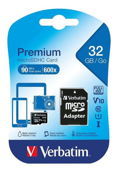 Cartão Memoria Microsdhc 32gb 90mb Veloc 600x Classe 10orig.
