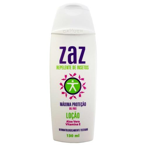 Zaz Repelente De Insetos Loção Maxima Proteção 130ml