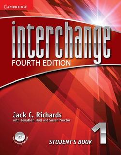 Libro Interchange 1- 4ta Edicion Blanco Y Negro Pack De 2