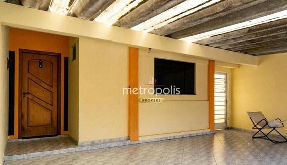 Casa Com 4 Dormitórios À Venda Ou Locação, 163 M² Por R$ - Mauá - São Caetano Do Sul/sp - Ca0425