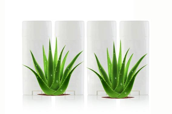 Desodorante Corpo Todo Transpirante Aloe Vera Kit Com 4