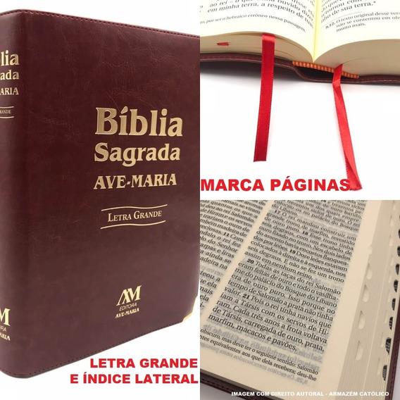 Bíblia Sagrada Catolica Letra Grande Ave Maria