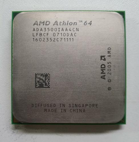 Processador Amd Athlon 64 3500+ 2.2 Ghz Socket Am2