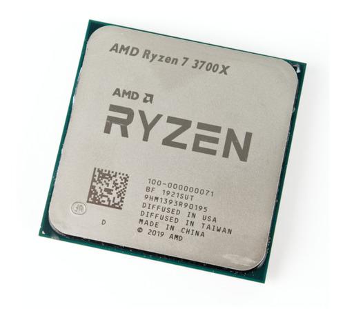 Processador Amd Ryzen R7-3700x 100000071box